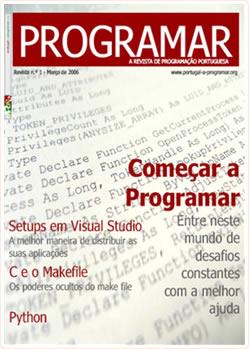 Revista PROGRAMAR: 1ª Edição - Março 2006